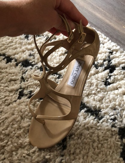 Jimmy Choo Tan Sandals Image 1