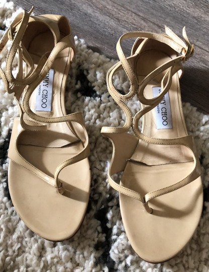 Jimmy Choo Tan Sandals Image 4