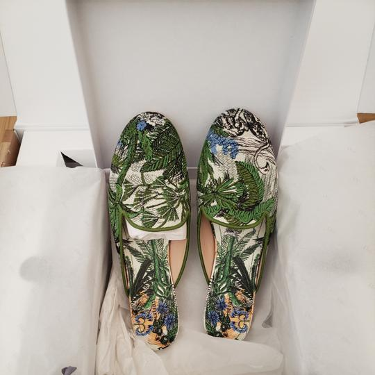 Dior Green Blue Multicolored Mules Image 4