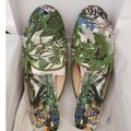 Dior Green Blue Multicolored Mules Image 6