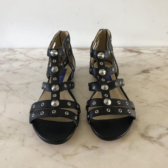 Jimmy Choo Studded Gladiator Strappy Black Sandals Image 2