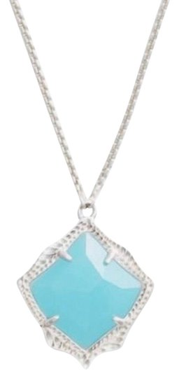 Preload https://img-static.tradesy.com/item/25684487/kendra-scott-blue-kacey-pendant-necklace-0-1-540-540.jpg