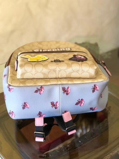 Coach Floral Vintage Style Disney Sleeping Beauty Backpack Image 6
