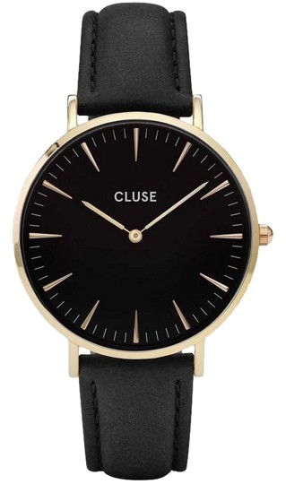Preload https://img-static.tradesy.com/item/25684587/cluse-black-cl18401-boheme-women-s-leather-band-with-analog-dial-watch-0-1-540-540.jpg