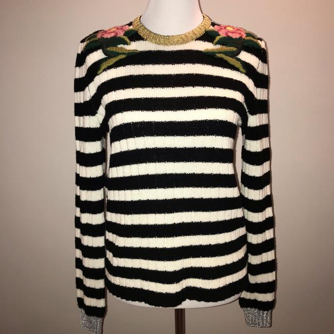 Gucci Cashmere Wool Embroidered Sweater Image 1