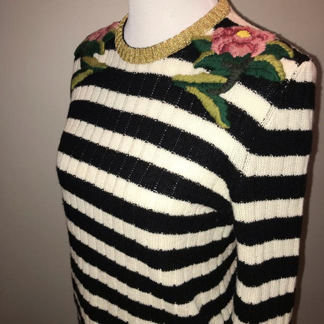 Gucci Cashmere Wool Embroidered Sweater Image 4