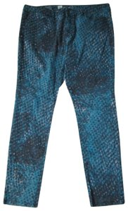 Mossimo Supply Co. Snakeskin Stretch Printed Casual Denim Skinny Jeans