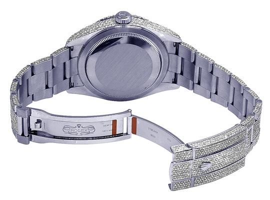 Rolex Sky Dweller 326934 42MM Stainless Steel Honeycomb Diamond 29.75 Ct Image 5