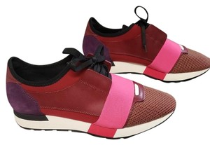 Balenciaga Burgundy,Purple, and Pink Athletic
