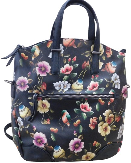 Rosetti Print Birds And Blooms Birds Backpack Image 0