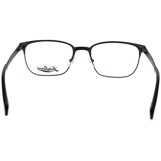 Lucky Brand D300-BLACK-53 Mens Rectangle Black Frame Clear Lens Genuine Eyeglasses Image 3