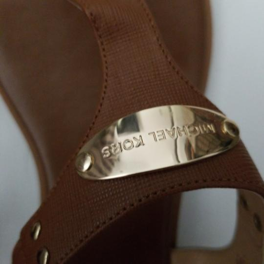 MICHAEL Michael Kors camel leather Flats Image 1