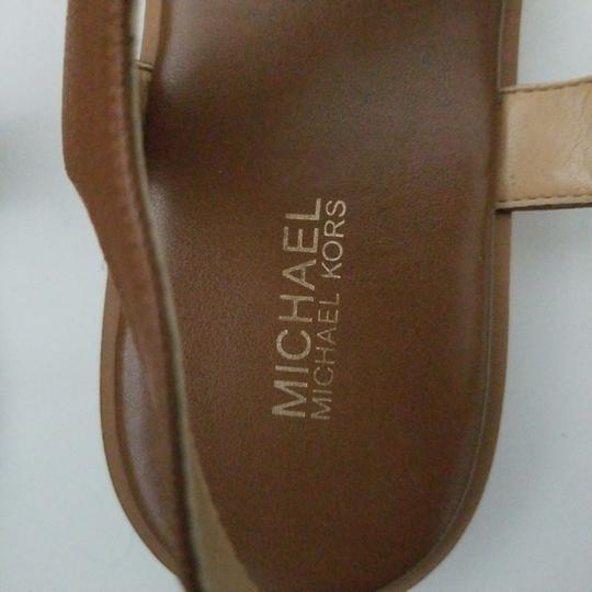 MICHAEL Michael Kors camel leather Flats Image 2
