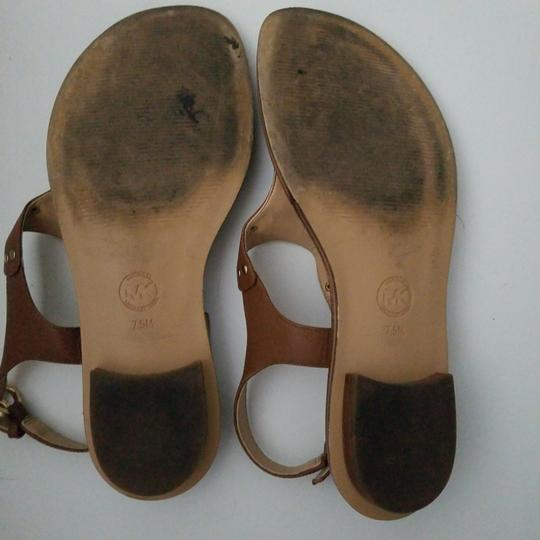MICHAEL Michael Kors camel leather Flats Image 3