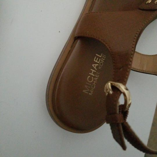 MICHAEL Michael Kors camel leather Flats Image 4