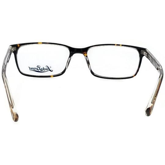 Lucky Brand BEACHFRONT-TORTOISE-52 Rectangle Tortoise Frame Clear Lens Eyeglasses Image 3