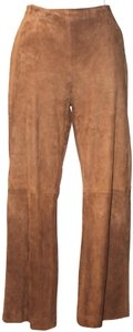 Salvatore Ferragamo Baggy Pants Tan