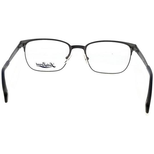 Lucky Brand D300-NAVY-53 Men's Rectangle Navy Frame Demo Lens Genuine Eyeglasses Image 3