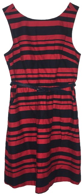 Preload https://img-static.tradesy.com/item/25685007/the-limited-navy-bluered-belted-short-casual-dress-size-4-s-0-1-650-650.jpg