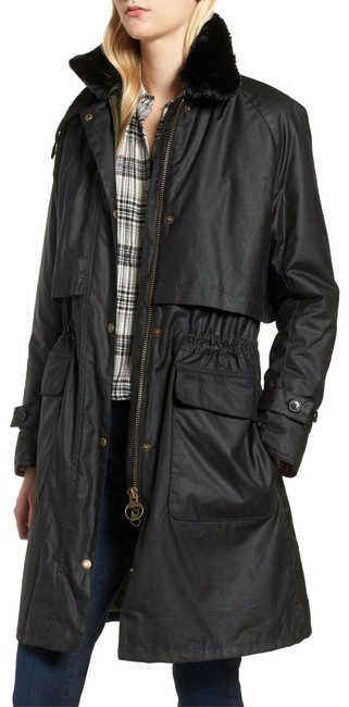 Preload https://img-static.tradesy.com/item/25685027/barbour-black-floree-waxed-cotton-canvas-jacket-with-faux-fur-collar-coat-size-4-s-0-1-650-650.jpg