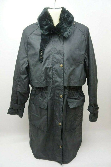 Barbour Trench Coat Image 2