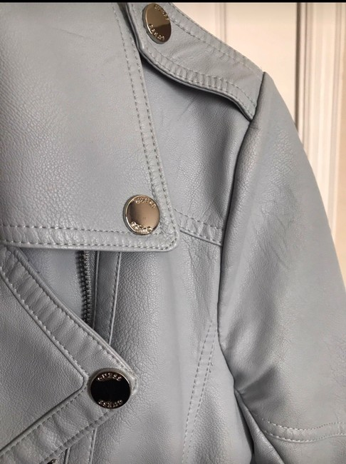 Guess light blue Leather Jacket Image 7