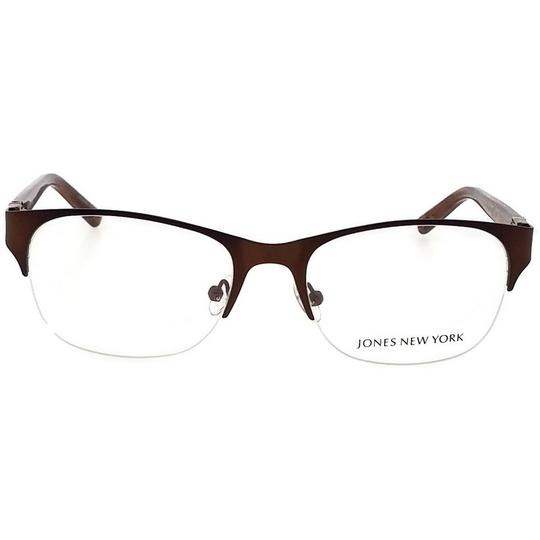 Jones New York JONES-J482-51 Women's Brown Frame Demo Lens Genuine Eyeglasses Image 1