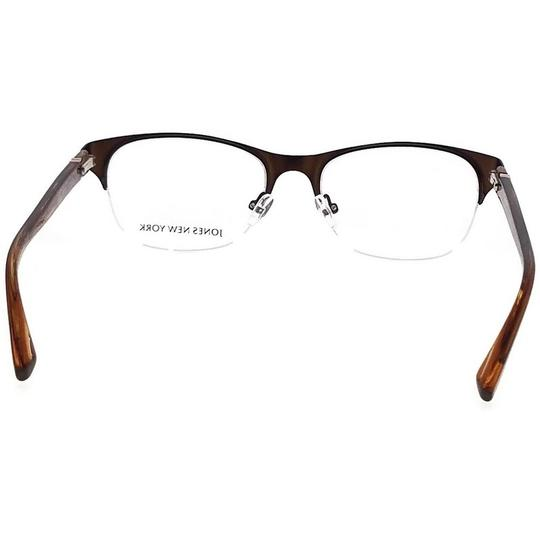 Jones New York JONES-J482-51 Women's Brown Frame Demo Lens Genuine Eyeglasses Image 3