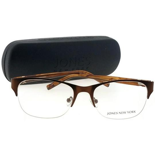 Jones New York JONES-J482-51 Women's Brown Frame Demo Lens Genuine Eyeglasses Image 4
