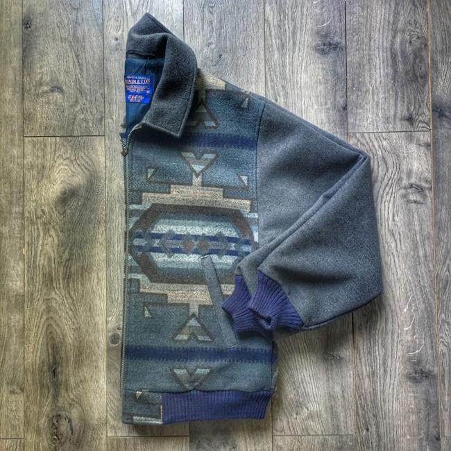 Pendleton blue / grey Jacket Image 1