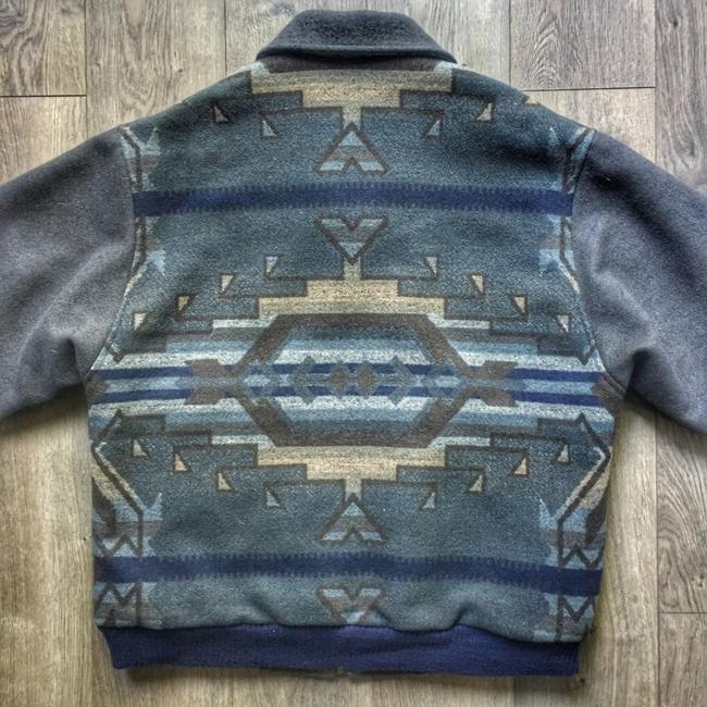 Pendleton blue / grey Jacket Image 4