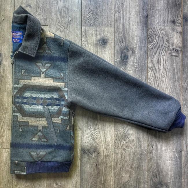 Pendleton blue / grey Jacket Image 8