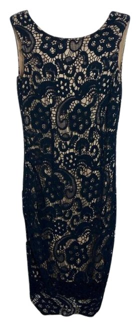 Preload https://img-static.tradesy.com/item/25685149/moon-collection-blue-crotchet-lace-plunge-mid-length-cocktail-dress-size-2-xs-0-1-650-650.jpg