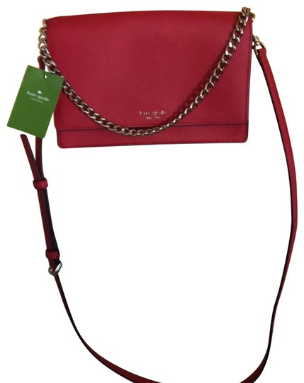 Preload https://img-static.tradesy.com/item/25685255/kate-spade-wkru5843-red-leather-cross-body-bag-0-1-540-540.jpg