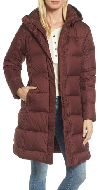 Item - Burgundy Down with It Parka Puffer Jacket Dark Currant Coat Size 8 (M)