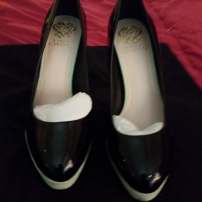Item - Black with Green Heels and Mint Pumps Platforms Size US 9 Regular (M, B)