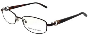 Jones New York JONES-J473-BROWN-52 Women's Brown Frame Demo Lens Eyeglasses