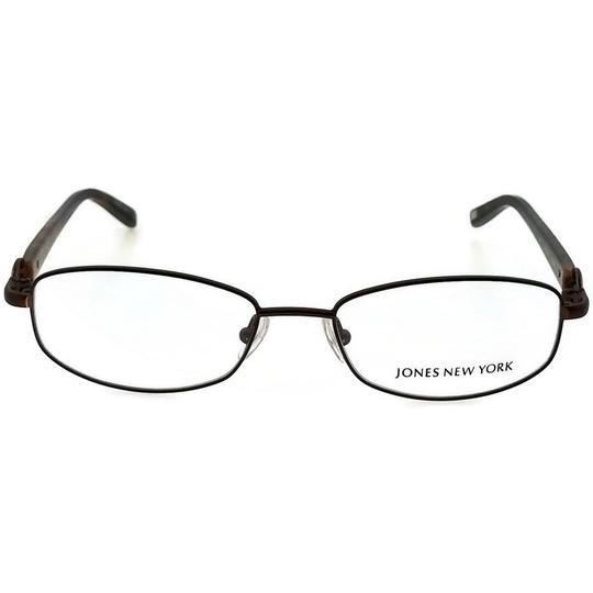 Jones New York JONES-J473-BROWN-52 Women's Brown Frame Demo Lens Eyeglasses Image 1