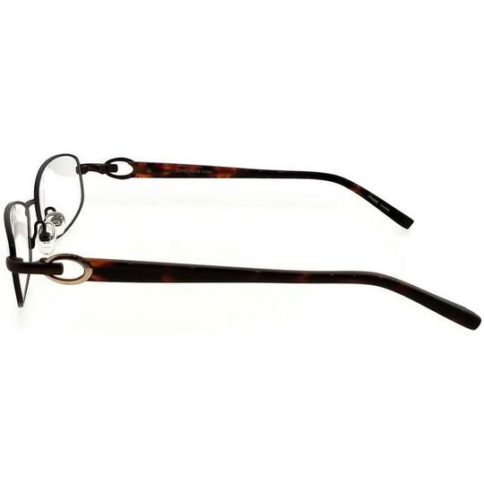 Jones New York JONES-J473-BROWN-52 Women's Brown Frame Demo Lens Eyeglasses Image 2