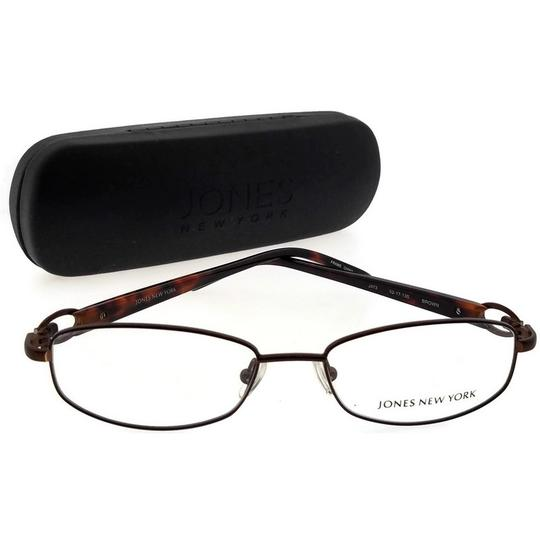 Jones New York JONES-J473-BROWN-52 Women's Brown Frame Demo Lens Eyeglasses Image 4