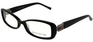 Jones New York JONES-J741-BLACK-52 Women's Black Frame Demo Lens Eyeglasses