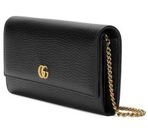 Gucci Wallet Purse Leather Cross Body Bag