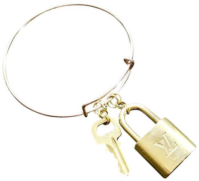 Item - Brass/Rose Gold Keepall Ellipse Speedy Alma Lock & Key For Use With: