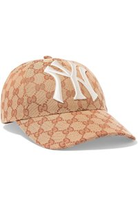 Gucci Gucci Baseball Cap with New York Yankees Patch Hat