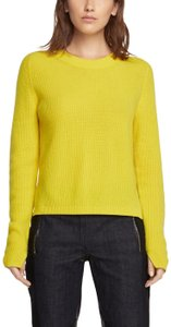 Rag & Bone Cashmere Cropped Long Sleeve Sweater