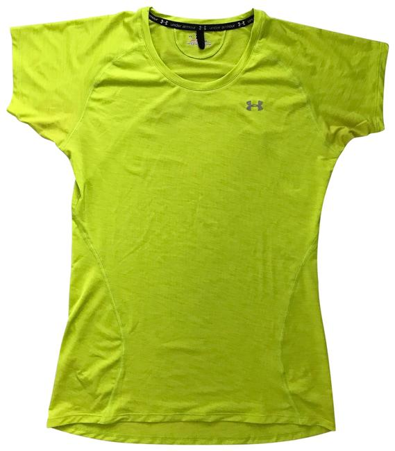 Item - Lime Green Yellow Heat Gear Activewear Top Size 2 (XS)