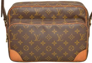 Louis Vuitton Monogram Shoulder Nile Cross Body Bag