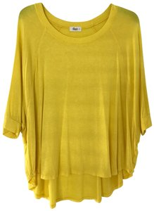 Glam Top Yellow