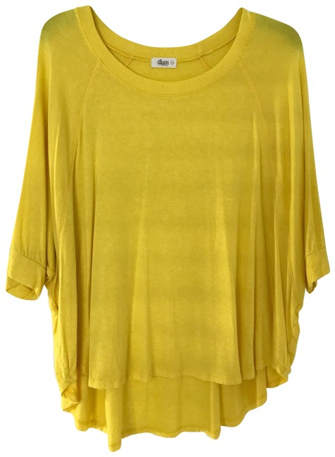 Item - Yellow Casual Blouse Size 4 (S)