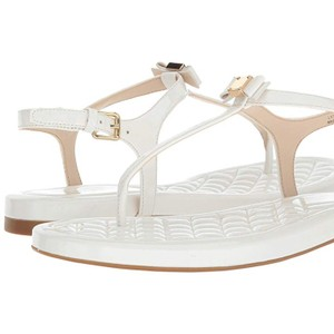 Cole Haan Optic white patent Sandals